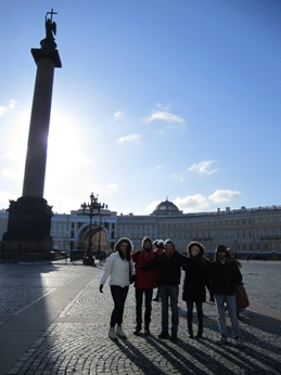 EESA field trip to Saint Petersburg, Russia